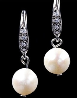 Pearl Settings Earrings